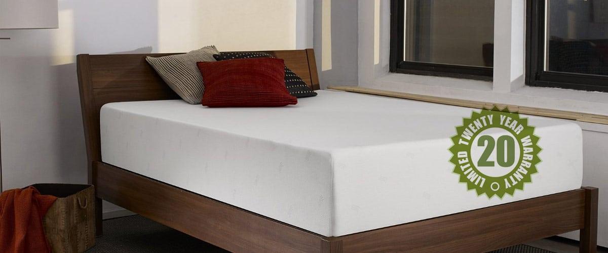 Sleep 12-inch Innovations Shiloh Memory Foam Queen Mattress